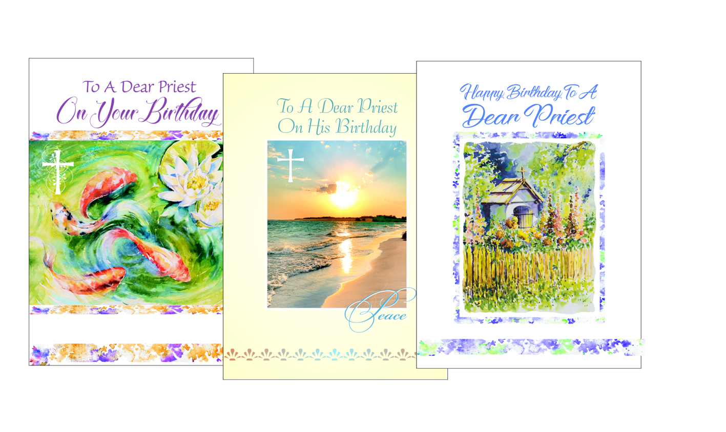 bright priest ordination anniversary cards