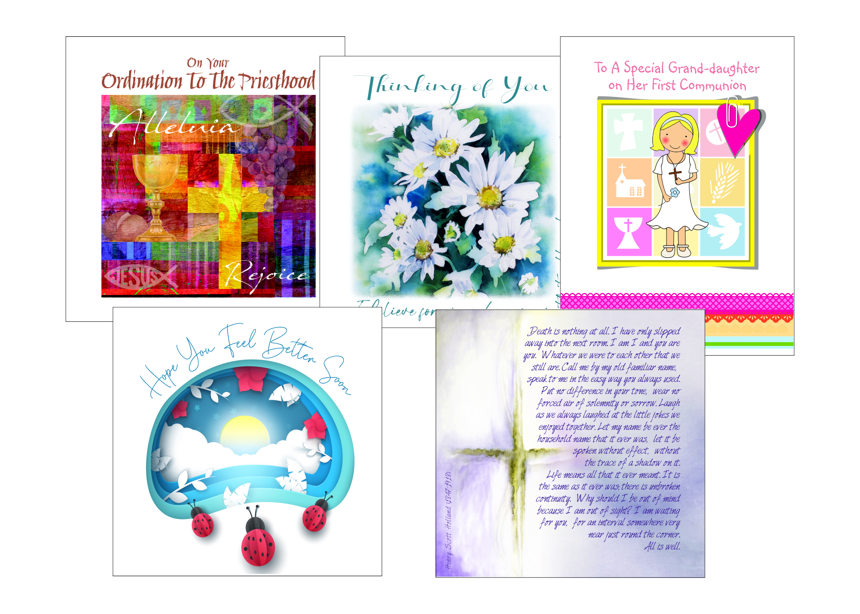 christian cards for all occasions